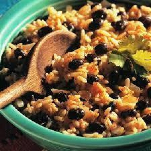 Old Mexico Black Beans And Rice Recipe
