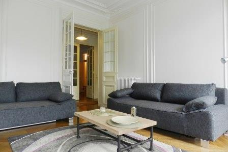 living space at 3 bedroom Apartment with Luxembourg Garden View