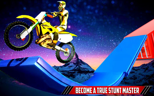 Bike Stunt Racing Tricky Track Driving ?