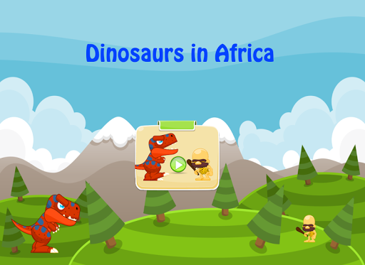 Dinosaurs in Africa