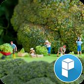 Miniature People Farming Theme