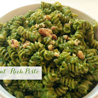Easy, Nutrient-Rich Pesto.