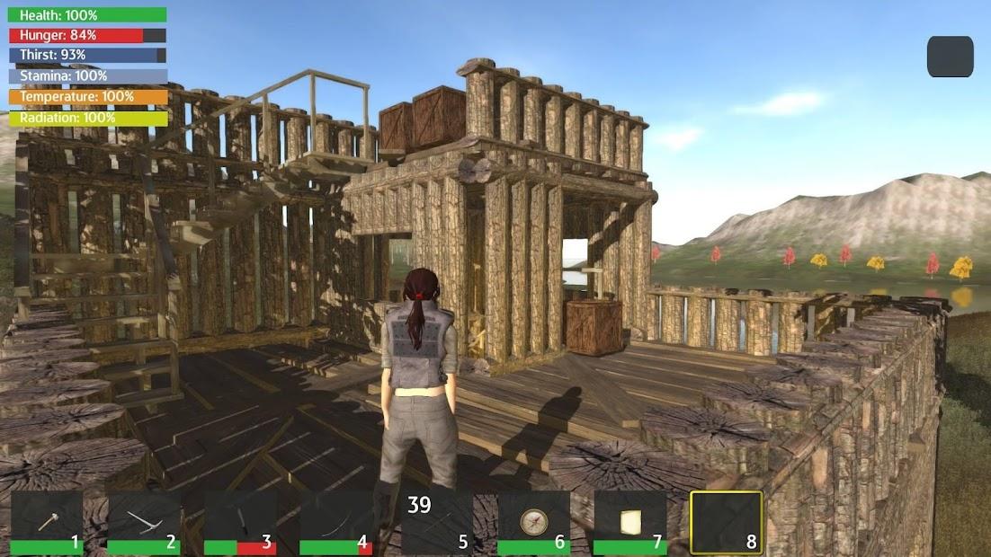 Thrive Island - Survival Throwback screenshot 1