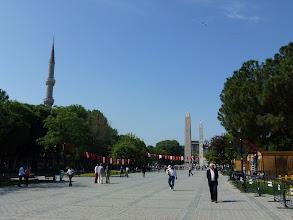 Photo: Sultan Ahmet Squar in Istanbul, Turkey