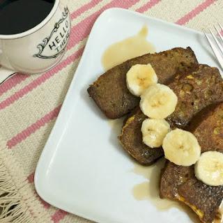 Banana Bread French Toast (gluten-free, dairy-free)