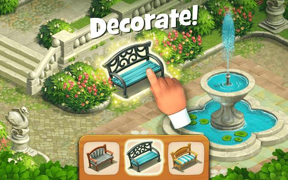 Gardenscapes apk screenshot
