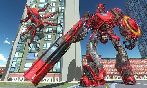 US Police Transform Iron Robot Spider Hero 1.0.3 screenshots 6