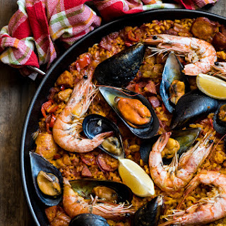 Paella Without Saffron Recipes.