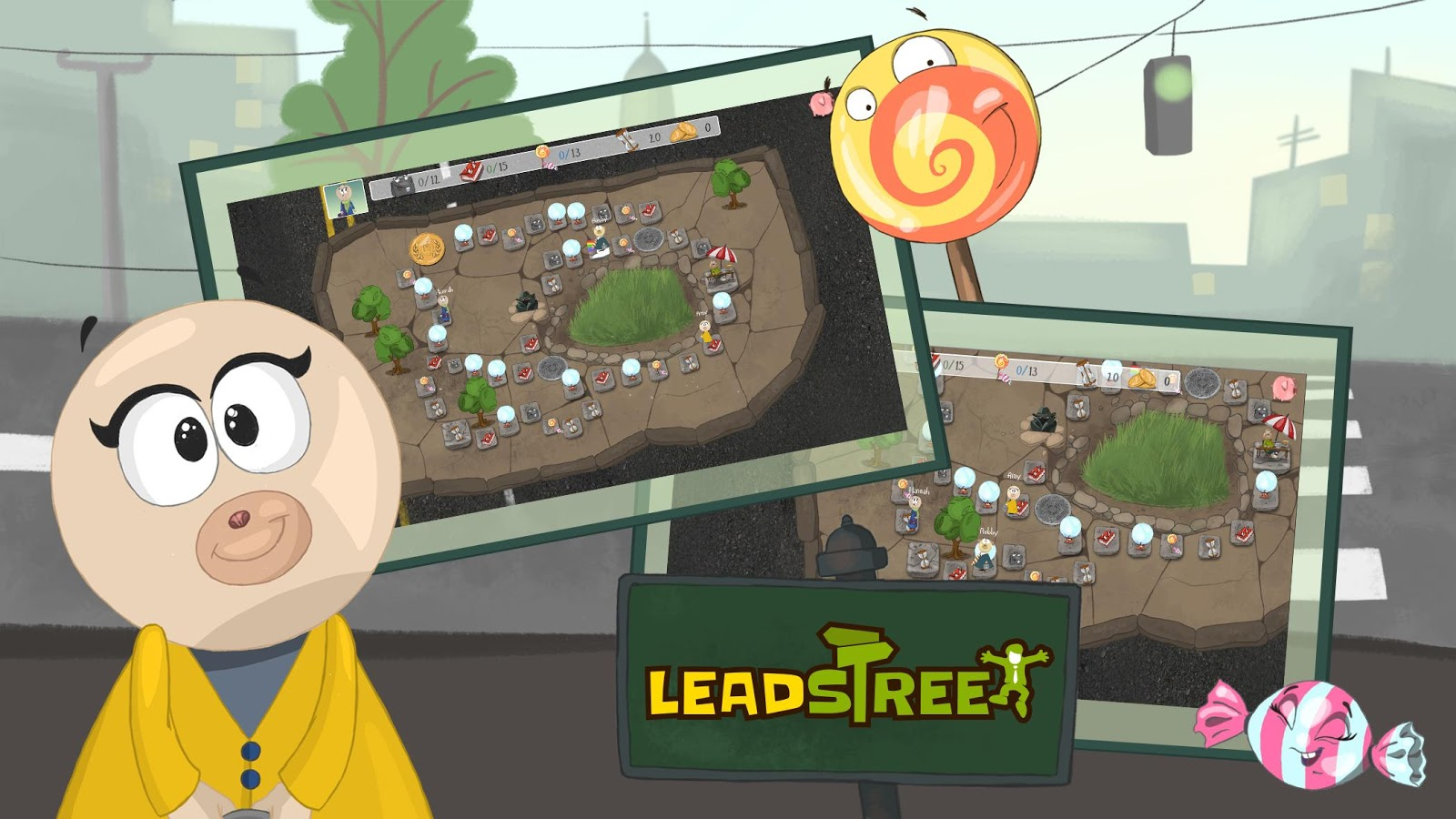 LeadStreet: Entrepreneurial board game for kids- screenshot