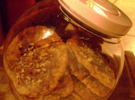Crispy Granola Cookies Recipe