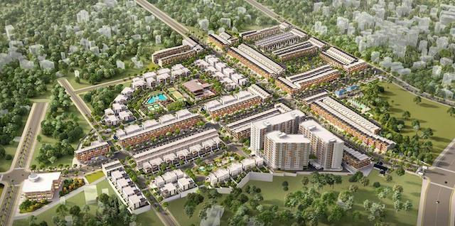 Dự án takara residence bình dương có diện tích 19.7ha