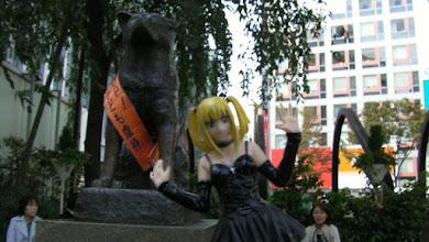 Photo: Hachiko (y Misa)
