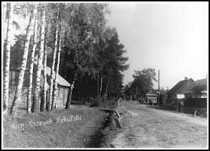 Photo: Ulica Rzeszowska w 1939. (Skan zdjęcia udostępnionego przez Panią Zofię Chmiel)