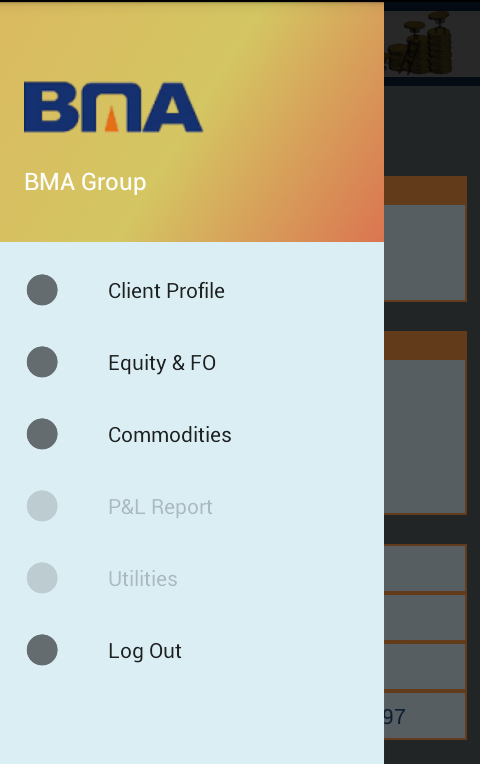 BMA Back-Office- screenshot