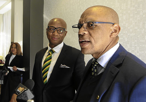 Zizi Kodwa and Pule Mabe have made the ANC's election candidate list despite the pair having stepped aside due to pressure from sexual allegations hovering over their heads.