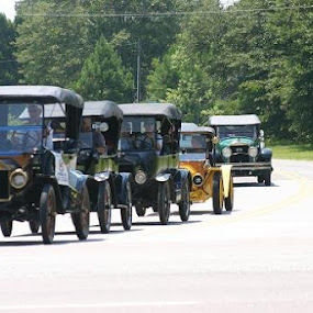 TOURING FOR AFTERNOON by Douglas Edgeworth - Transportation Automobiles (  )