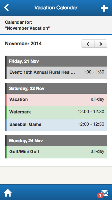 Ski Country Vacation Planner- screenshot