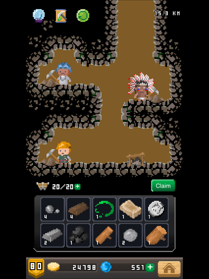 Blacksmith Story-Pixel Heroes- screenshot