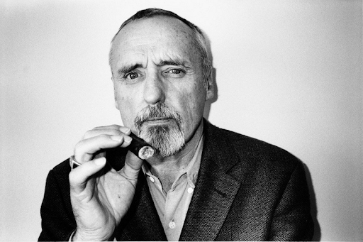 "Dennis Hopper ""Photographs"" Book Portrait"