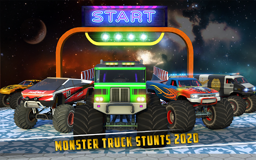Monster Truck Mega Ramp Stunts Extreme Stunt Games screenshots 7