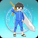 용사님 소환되다 - RPG 클리커 용사 키우기 icon