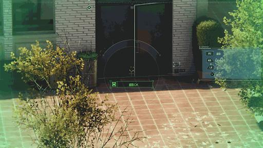 黒猫の場所