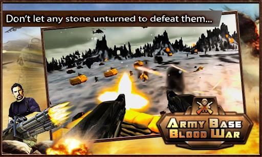Army Base Blood War