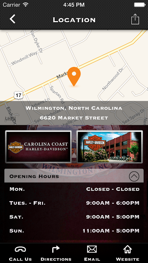 Harley-Davidson of Greensboro®- screenshot