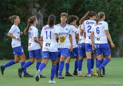 Straf: KAA Gent Ladies halen hard uit tegen Duitse tegenstander