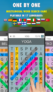 One By One PRO - Multilingual Word Search 10