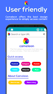 Cameleon – Privacy AdBlock and Float Browser 🦎 App Download For Android 2
