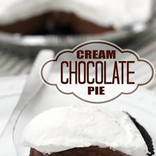 Chocolate Cream Pie #2