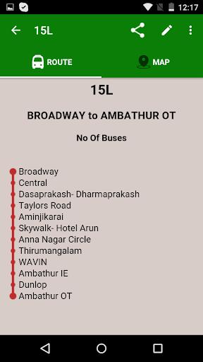 MTC bus route 3.10 screenshots 2