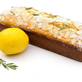 Lemon Rosemary Pound Cake