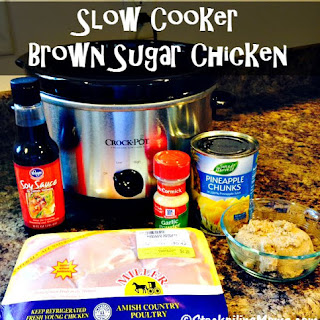 Slow Cooker Brown Sugar Chicken Recipe