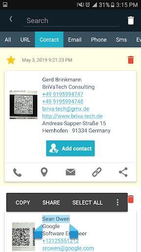 QR & Barcode Reader Free ss3