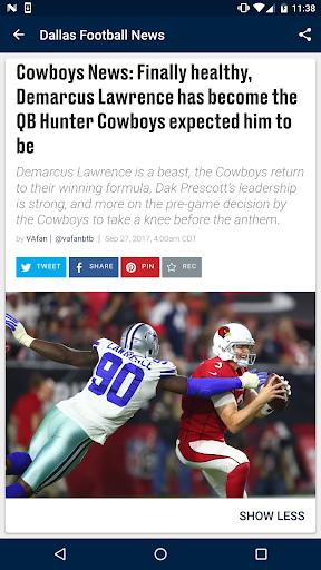 Dallas Football News  screenshots 2