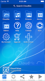 CloudMe- screenshot thumbnail