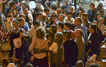 Photo: Este ano o mercado medieval deve ter batido todos os recordes de afluência de público