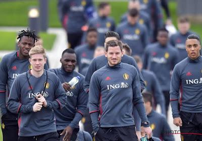 De Bruyne en Lukaku trainen apart, Hannes Delcroix en Gaëtan Coucke keren niet terug naar de beloften