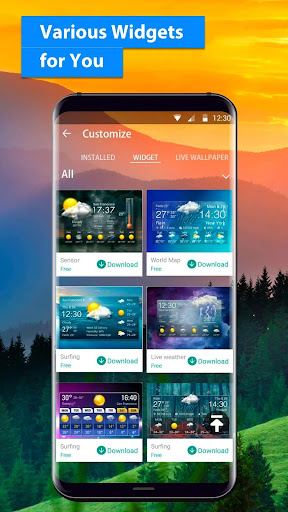 free live weather on screen 16.6.0.6243_50109 screenshots 5