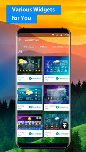 free live weather on screen 16.6.0.6243_50109 screenshots 5