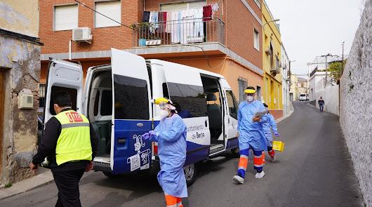 Salud bate el récord con casi 12.000 vacunas en una semana en Almería