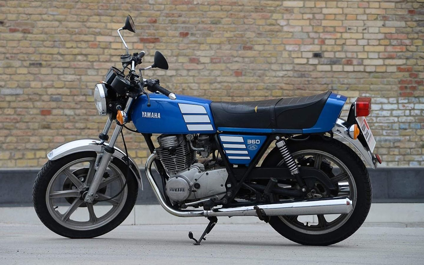 Yamaha XS 360 SOHC-manual-taller-despiece-mecanica