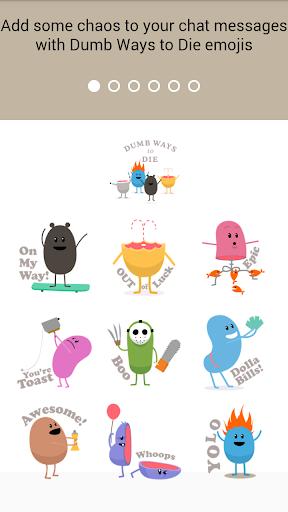 Dumb Ways To Die Emoji