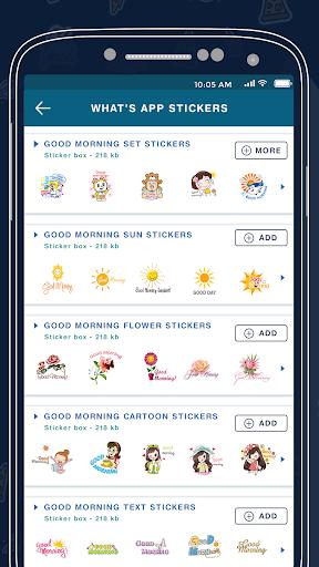 Morning Sticker For Whatsapp 2.0 screenshots 3