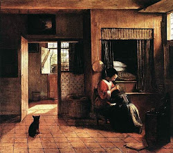 Photo: 1660, a box bed, a split door and an interior window to let more light into the room.