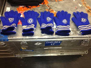Photo: It's a cold day here in London! You can buy these in the Megastore...