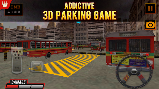 BEST Bus 3D Parking- screenshot thumbnail