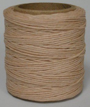 Maine Thread 040 Natural Waxed Polycord 210 feet each Includes 2 spools You can find more details by visiting the image link.